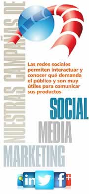 Acciones de marketing en medios sociales. Social Media Marketing