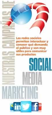 Acciones de marketing en medios sociales. Social Media Marketing