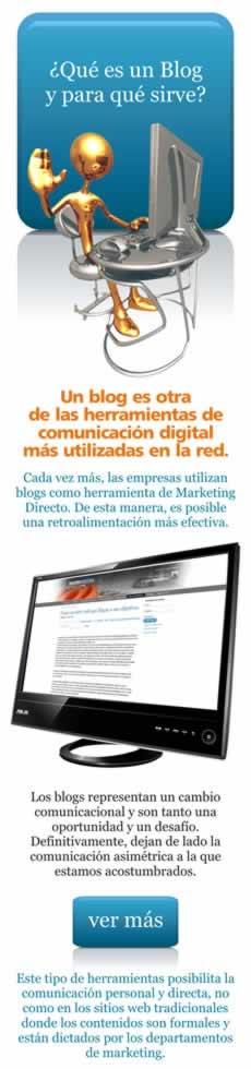 Qué es un Blog y para qué sirve. herramienta de Marketing Directo.