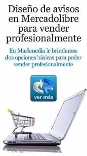 Diseño de avisos en Mercadolibre para vender profesionalmente. una empresa necesita promocionar sus productos o servicios. Los avisos para Mercadolibre que le ofrecemos en Markmedia. emprendimientos que deseen comercializar sus productos o servicios. la venta de productos en Mercado Libre. poder vender profesionalmente en Mercado libre.