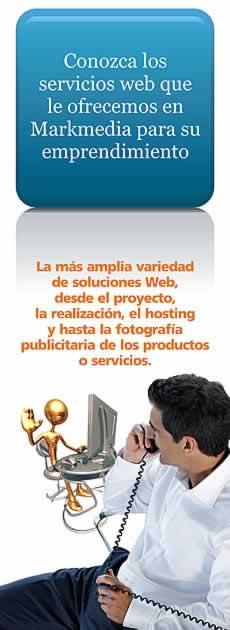 Servicios de diseño web que ofrecemos en Markmedia.